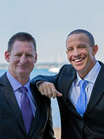 Chris Rowbottom and Lance Jensen - Real Estate Agent