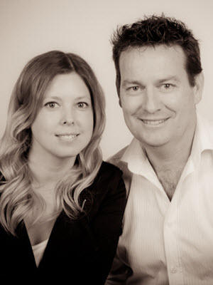 Mike Dobbin and Zoe Usher - Real Estate Agent