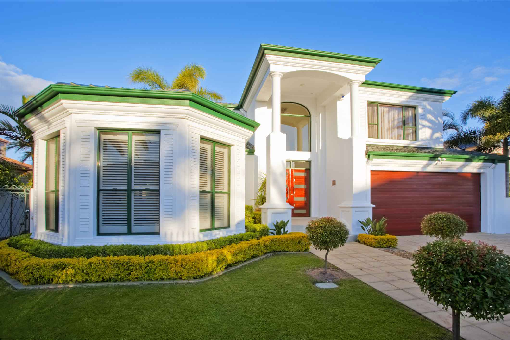 front garden house