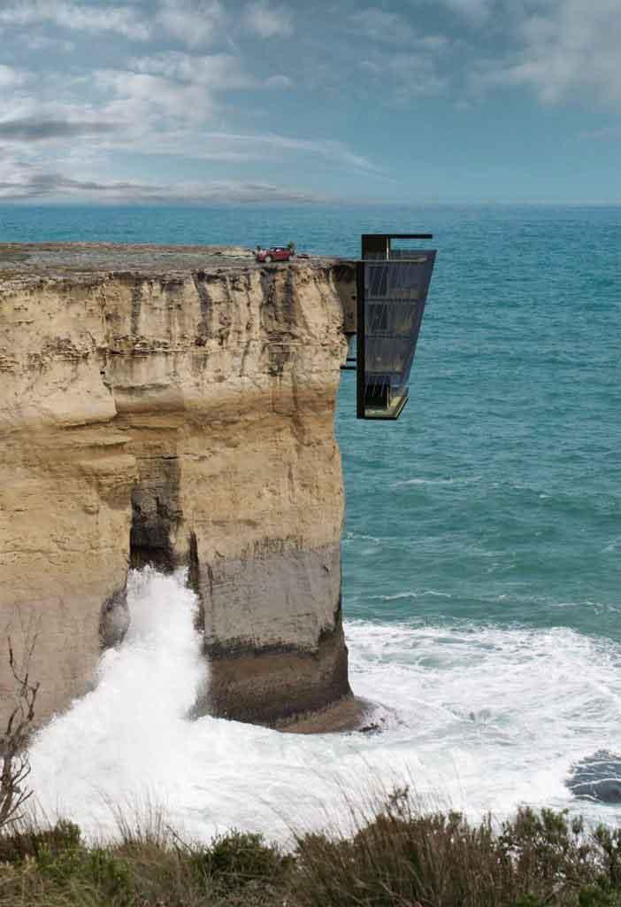 cliff house modscape