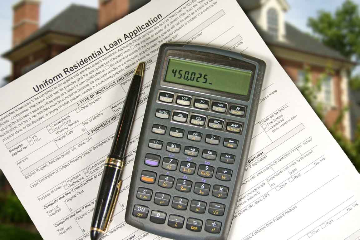 Residential Loan Application With Calculator