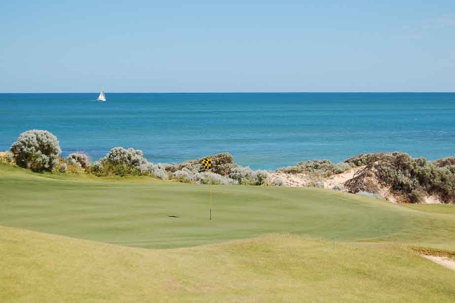 Seaside golf in Western Australia