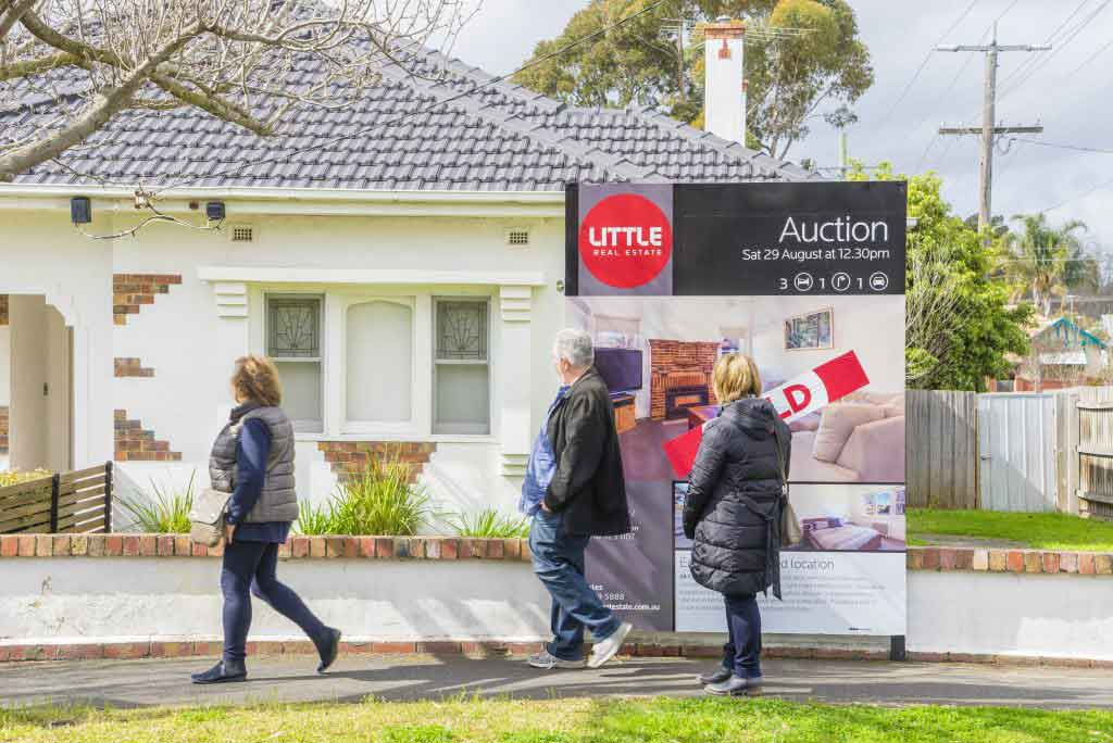 Melbourne, Australia - auction