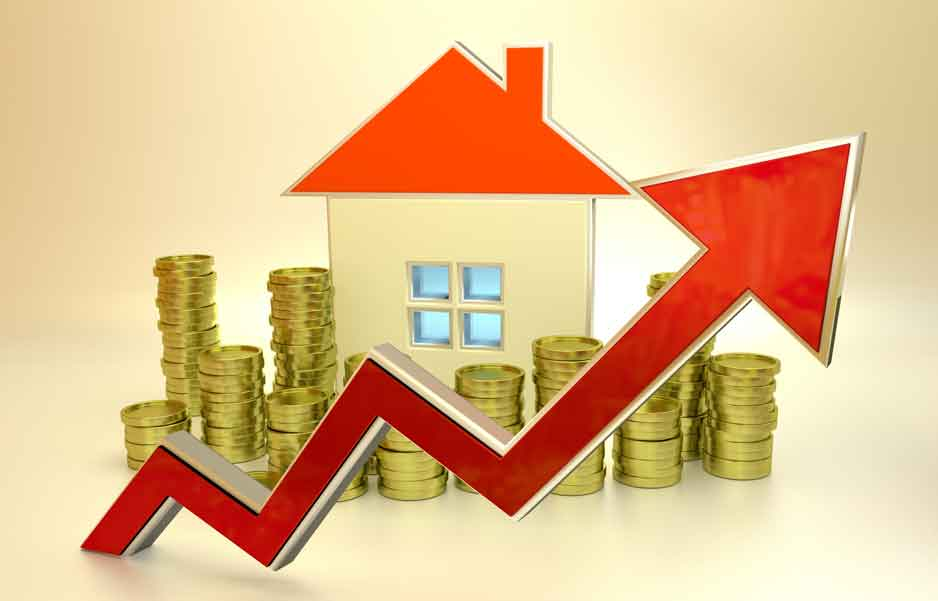 rising real estate prices