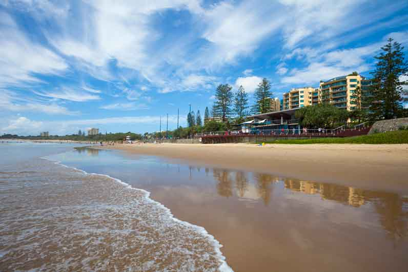 Mooloolaba beach, Queensland