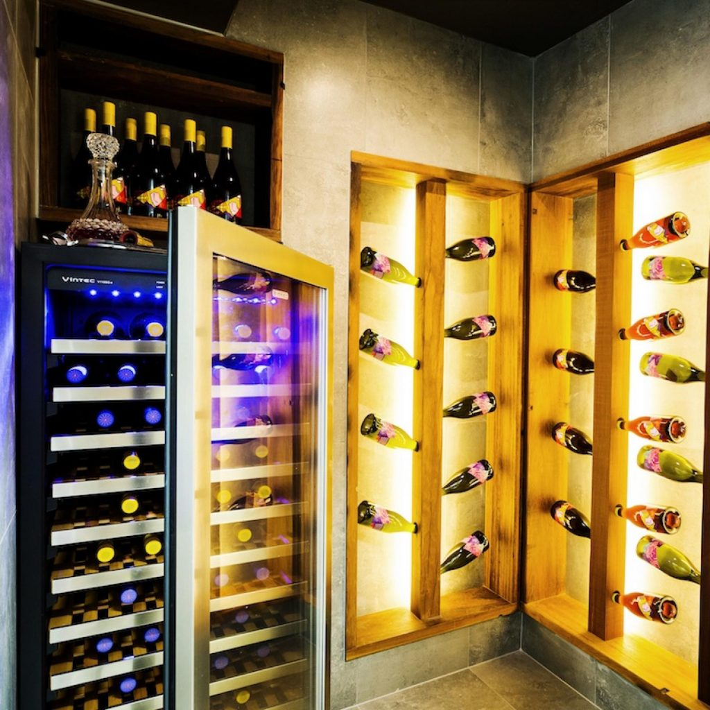 the block wine cellar