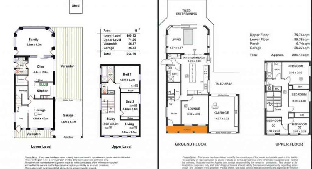 before and after floorplan renovation