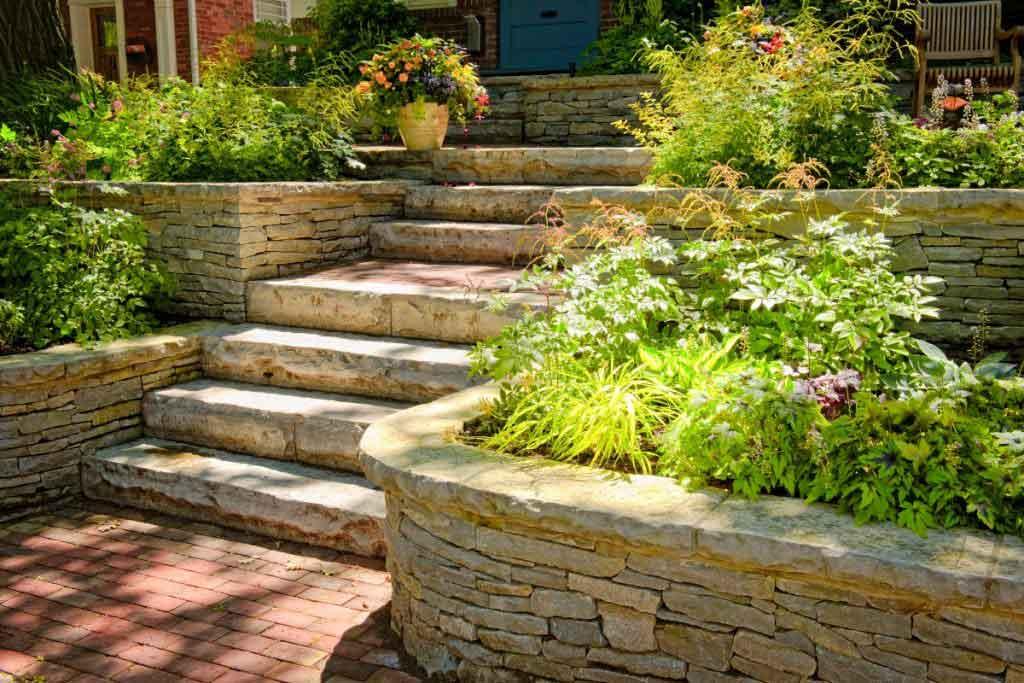 outdoor paving and stonemasonry