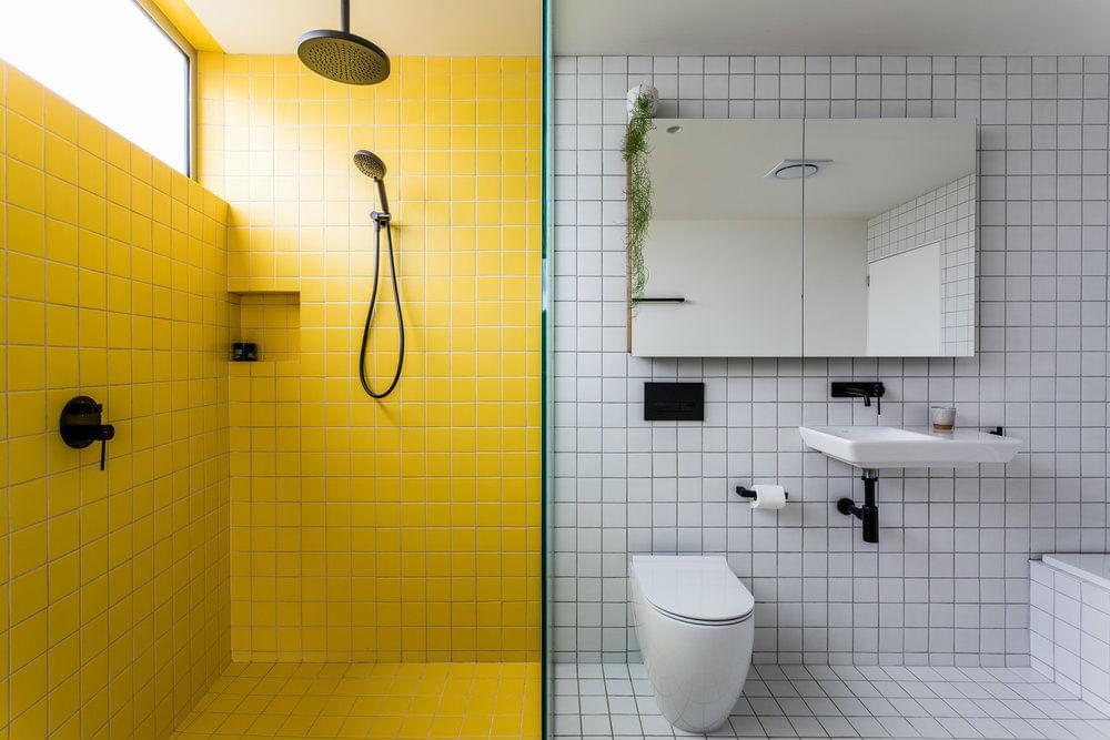 bathroom cross house architect