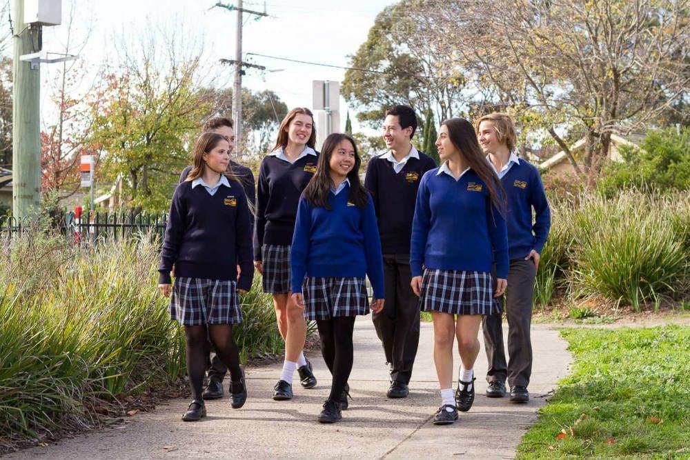 high school zones Melbourne