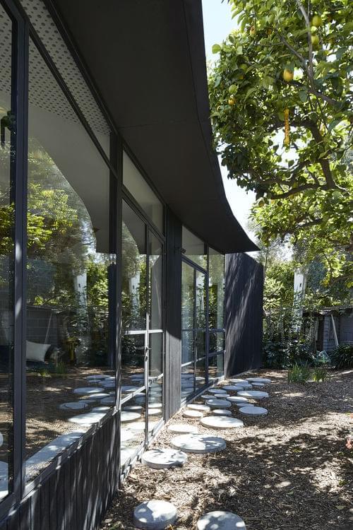 garden pavillion by bloxas