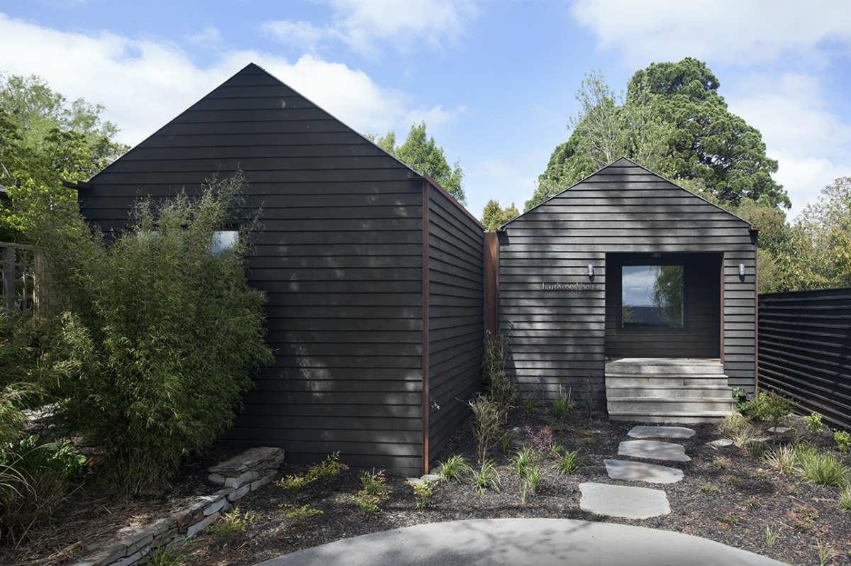 hardwood house exterior