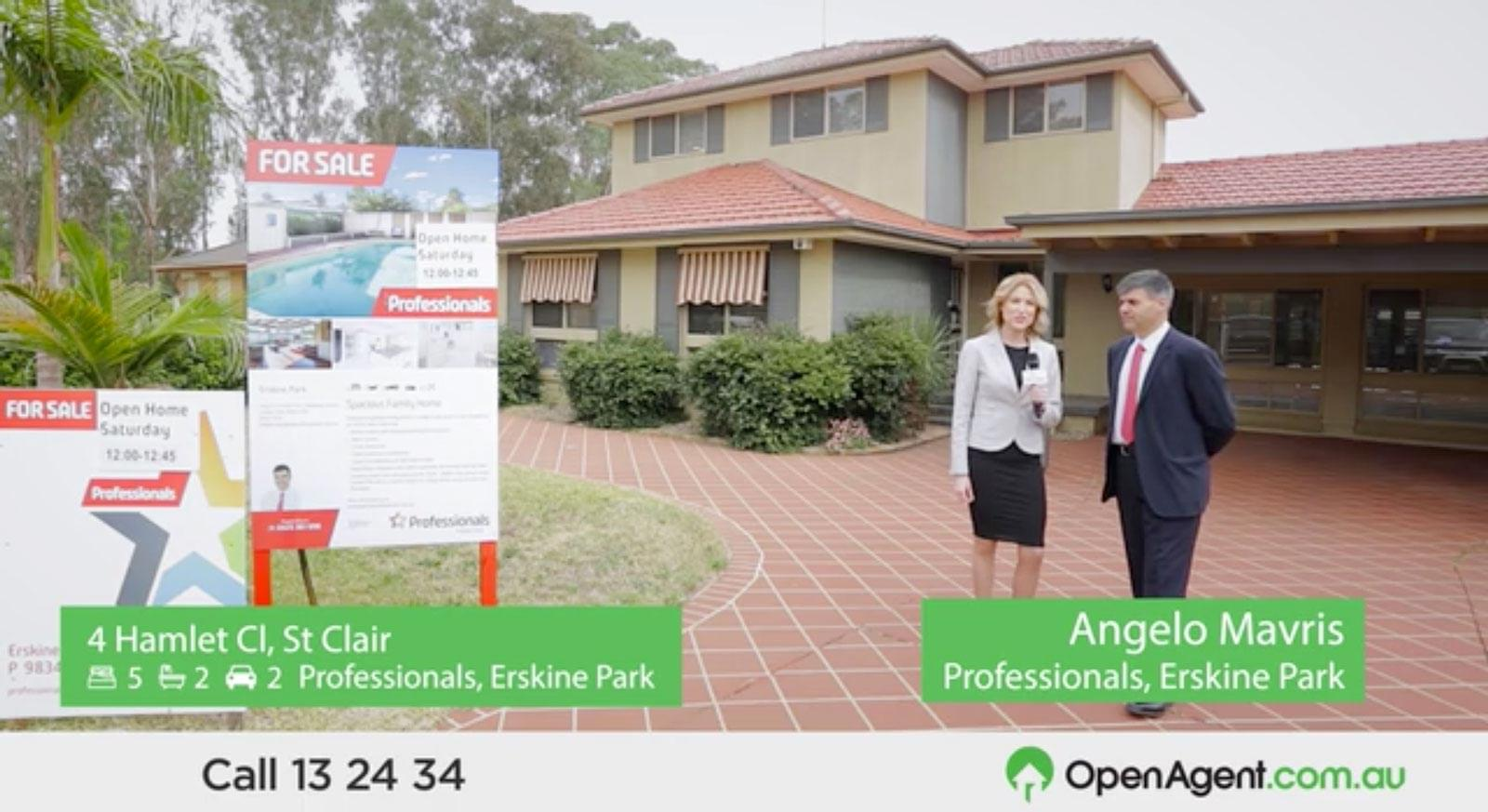 OpenAgent Article - OpenAgent TV Magazine: Episode 14 - An impressive spacious family home in a quiet cul-de-sac in St Clair