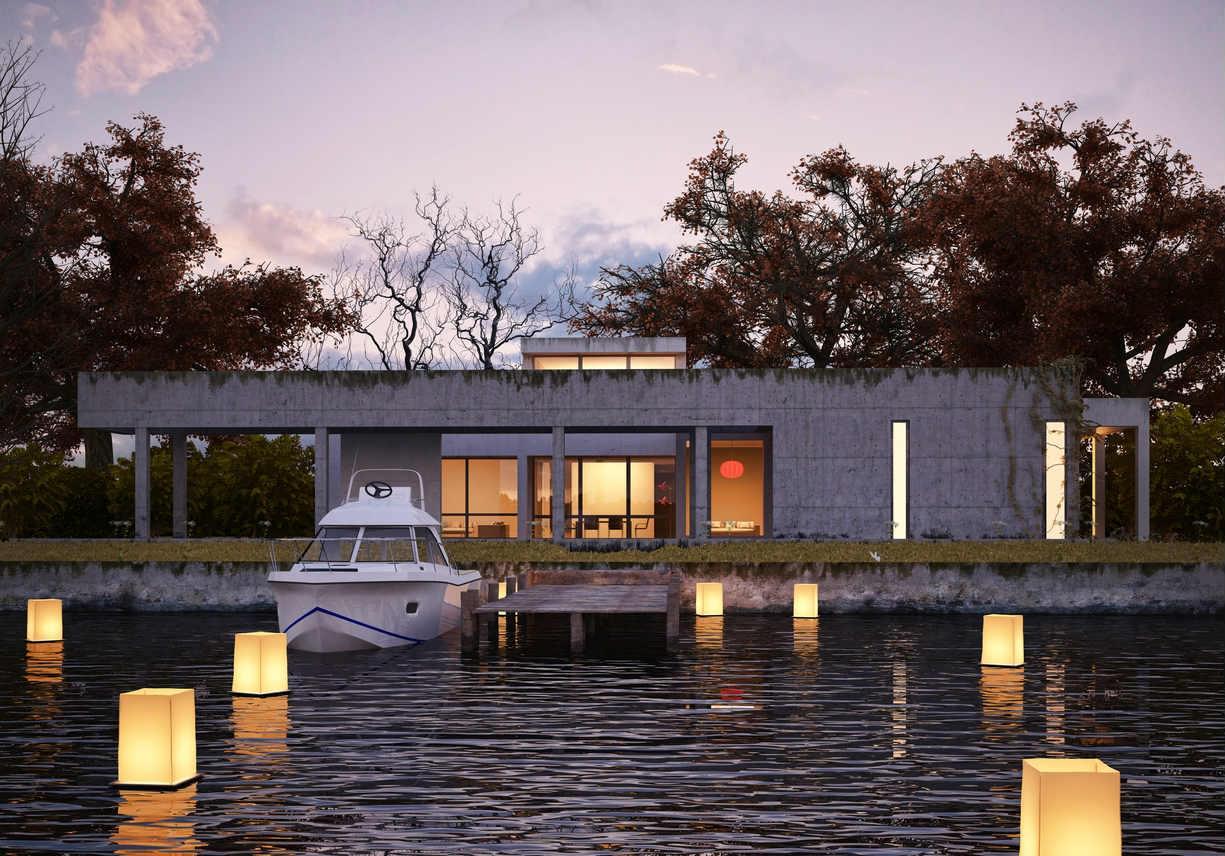 house on water tasmania