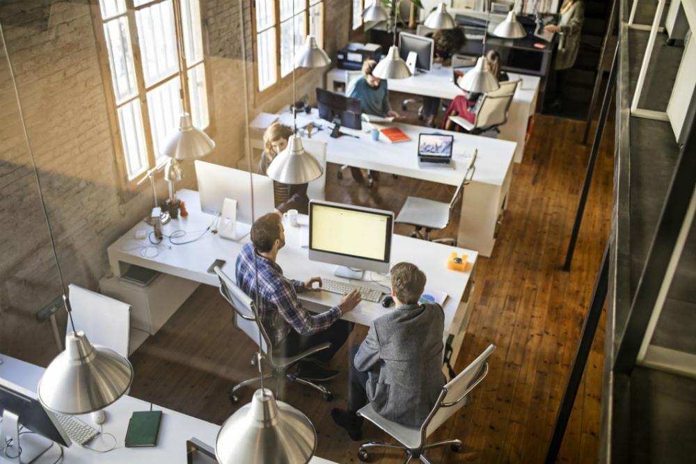 Startup job office