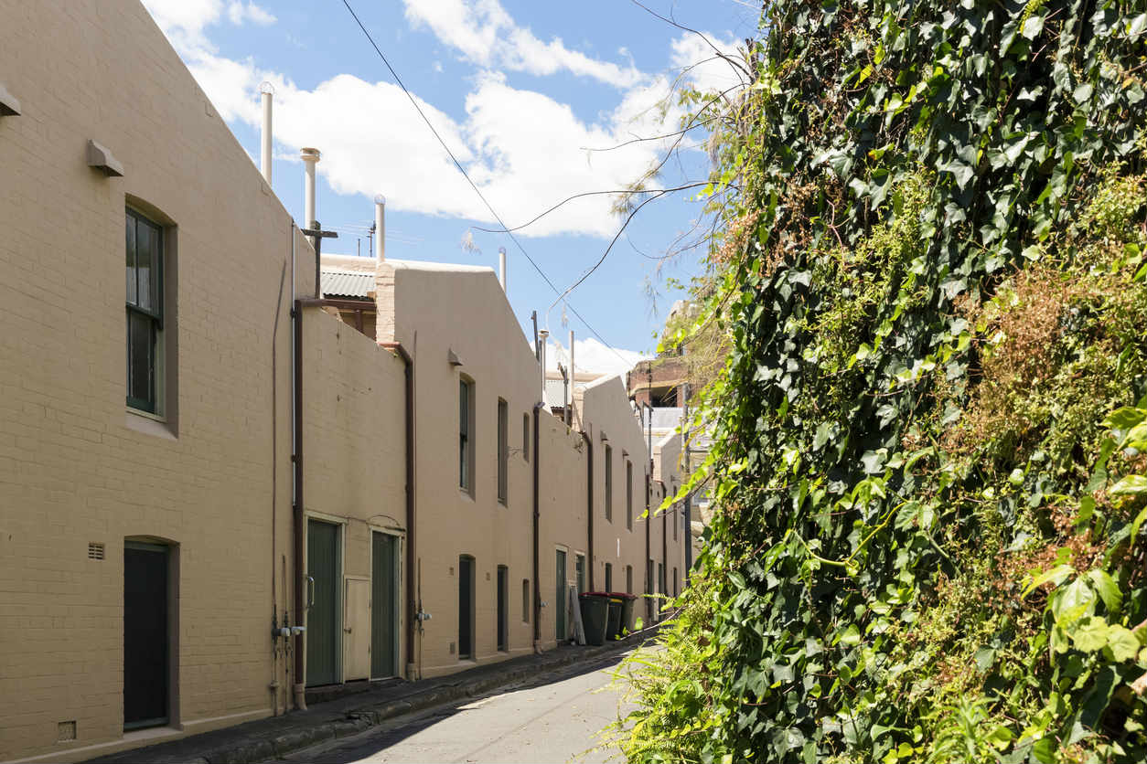 inner city laneways sydney