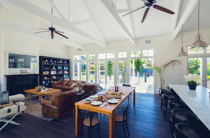 modern interior qld home