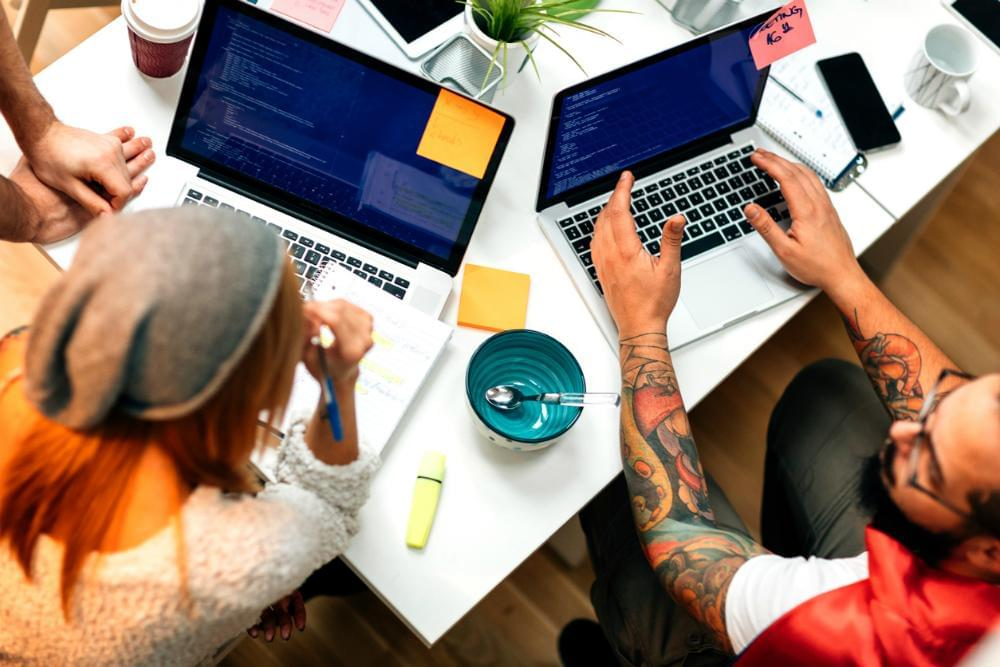 office startup engineering developer