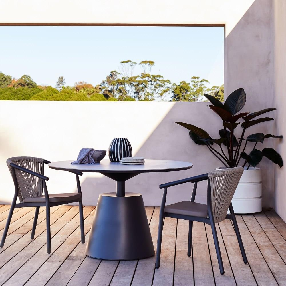 outdoor real estate styling