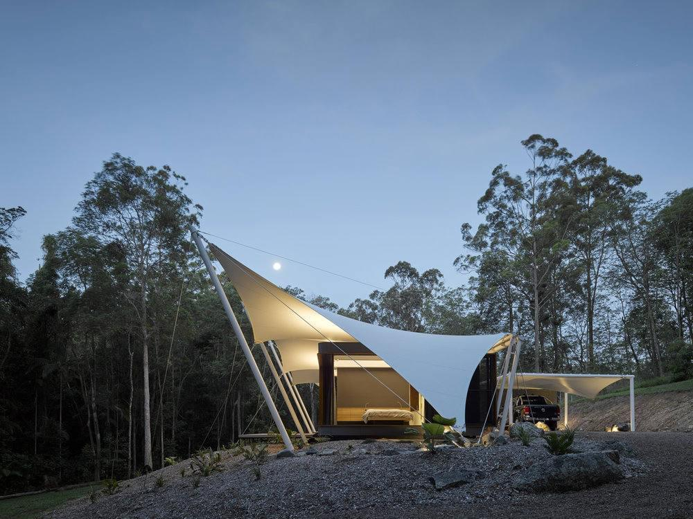 sparks architects tent house